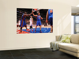 New York Knicks v Los Angeles Clippers: Raymond Felton and Danilo Gallinari Posters by Noah Graham