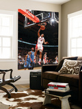 Washington Wizards v Toronto Raptors: DeMar DeRozan and Andray Blatche Prints by Ron Turenne