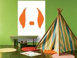 Orange Floppy Ears Affiches par  Avalisa