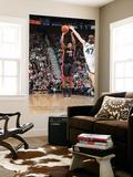 Miami Heat v Utah Jazz: Mario Chalmers and Andrei Kirilenko Poster by Melissa Majchrzak