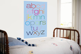 Blue Rainbow Alphabet Prints by  Avalisa