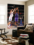 Sacramento Kings v Los Angeles Clippers: Carl Landry and Blake Griffin Poster by Noah Graham