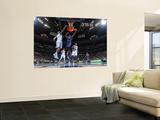 New York Knicks v Denver Nuggets: Raymond Felton and Al Harrington Prints by Garrett Ellwood