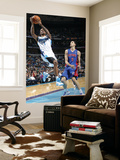 Detroit Pistons v New Orleans Hornets: Trevor Ariza and Austin Daye Poster by Layne Murdoch