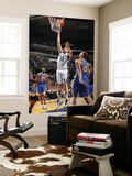 Golden State Warriors v Memphis Grizzlies: Marc Gasol and Andris Biedrins Prints by Joe Murphy