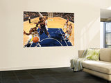 Atlanta Hawks v Indiana Pacers: Josh Smith, James Posey and Roy Hibbert Posters af Ron Hoskins