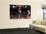 Sacramento Kings v Los Angeles Clippers: Blake Griffin, Samuel Dalembert and Beno Udrih Prints by Noah Graham