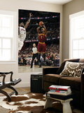 Miami Heat v Cleveland Cavaliers: Daniel Gibson and LeBron James Posters by David Liam Kyle