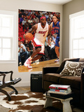 Detroit Pistons v Miami Heat: LeBron James and Tayshaun Prince Poster by Victor Baldizon