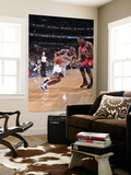 New Jersey Nets v Philadelphia 76ers: Thaddeus Young and Kris Humphries Prints by David Dow