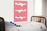 Pink Planes Posters by  Avalisa