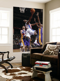 Los Angeles Lakers v Detroit Pistons: Rodney Stuckey, Pau Gasol and Lamar Odom Prints by Allen Einstein
