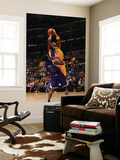 Sacramento Kings v Los Angeles Lakers: Kobe Bryant and Luther Head Print by Noah Graham