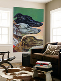 """Greyhounds,"" March 29, 1941 Plakat af Paul Bransom"