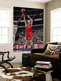 Houston Rockets v Dallas Mavericks: Chase Budinger and Brendan Haywood Prints by Glenn James