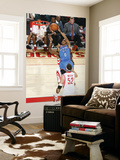 Oklahoma City Thunder v Houston Rockets: Russell Westbrook and Brad Miller Posters by Bill Baptist