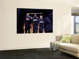 Denver Nuggets v Phoenix Suns: Grant Hill, Jason Richardson and Steve Nash Print by Christian Petersen