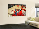 Oklahoma City Thunder v Chicago Bulls: Thabo Sefolosha, Nenad Krstic and Carlos Boozer Print by Joe Murphy