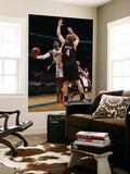Portland Trail Blazers v Washington Wizards: John Wall and Sean Marks Art by Ned Dishman