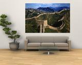 Landscape of Great Wall, Jinshanling, China ポスター : ケレン・スー