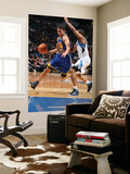 Golden State Warriors v Minnesota Timberwolves: Stephen Curry and Sebastian Telfair Prints by David Sherman