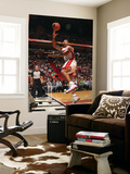Detroit Pistons v Miami Heat: Juwan Howard Print by Victor Baldizon