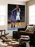 New York Knicks v New Orleans Hornets: Chris Paul and Arar'e Stoudemire Art by Layne Murdoch