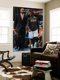 San Antonio Spurs v New Orleans Hornets: Chris Paul and Monty Williams Prints by Layne Murdoch