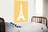 Yellow Eiffel Tower Prints by  Avalisa