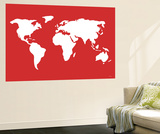 Red World Posters by  Avalisa