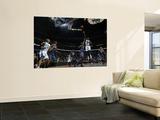 Charlotte Bobcats v New Orleans Hornets: Emeka Okafor and Nazr Mohammed Prints by Layne Murdoch