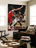 Philadelphia 76ers v Cleveland Cavaliers: Daniel Gibson and Darius Songaila Prints by David Liam Kyle