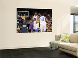 Detroit Pistons v Golden State Warriors: Dorell Wright and Reggie Williams Print by Rocky Widner