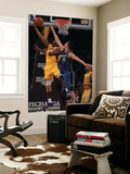 Washington Wizards v Los Angeles Lakers: Kobe Bryant and Yi Jianlian Posters by  Jeff