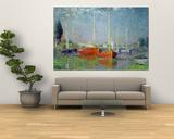 Claude Monet - Argenteuil, circa 1872-5 Obrazy