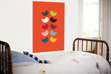 Orange Kiss Poster par  Avalisa