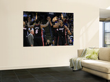 Miami Heat v Golden State Warriors: Lebron James and Chris Bosh Posters by  Ezra