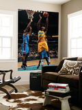 Oklahoma City Thunder v New Orleans Hornets: Emeka Okafor and Serge Ibaka Prints by  Chris