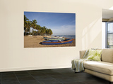 Playa Los Gringos Beach, Nagua, North Coast, Dominican Republic Prints by Walter Bibikow
