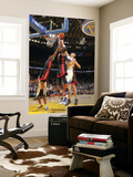 Miami Heat v Golden State Warriors: Dwayne Wade, Chris Bosh and Andris Biedrins Prints by Rocky Widner