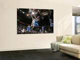 Oklahoma City Thunder v Minnesota Timberwolves: Kevin Love and Nenad Krstic Posters by David Sherman