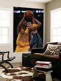 Washington Wizards v Los Angeles Lakers: Kobe Bryant and Javale McGee Prints by  Jeff