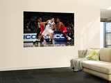 Philadelphia 76ers v Washington Wizards: JaVale McGee and Elton Brand Posters by Ned Dishman