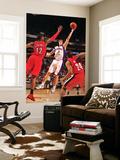 Portland Trail Blazers v Phoenix Suns: Goran Dragic and LaMarcus Aldridge Art by Barry Gossage