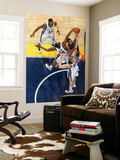 Detroit Pistons v Memphis Grizzlies: Greg Monroe, Darrell Arthur and Marc Gasol Prints by Joe Murphy