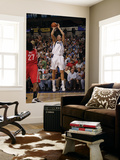 Houston Rockets v Dallas Mavericks: Dirk Nowitzki and Jordan Hill Prints by Danny Bollinger