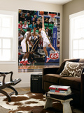 Indiana Pacers v Utah Jazz: Andrei Kirilenko and Danny Granger Prints by Melissa Majchrzak