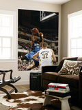 Orlando Magic v Indiana Pacers: Vince Carter and Josh McRoberts Print by Ron Hoskins