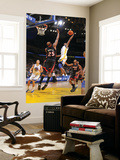 Miami Heat v Golden State Warriors: Dorell Wright and Erick Dampier Prints by Rocky Widner