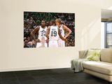 Indiana Pacers v Utah Jazz: Andrei Kirilenko, Raja Bell and Paul Millsap Prints by Melissa Majchrzak